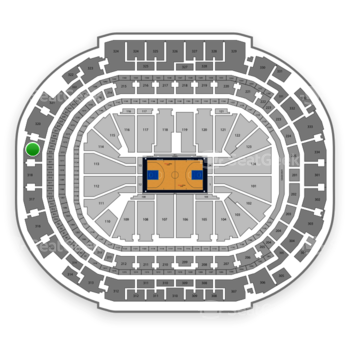 Dallas Mavericks at American Airlines Center Section 319 View