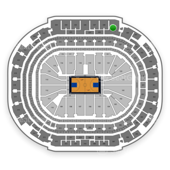 Dallas Mavericks at American Airlines Center Section 329 View