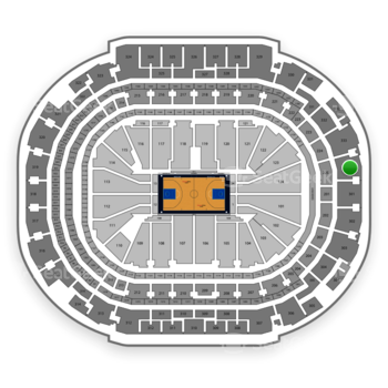 Dallas Mavericks at American Airlines Center Section 334 View