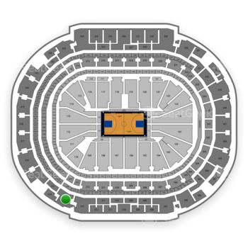Dallas Mavericks at American Airlines Center Section 313 View