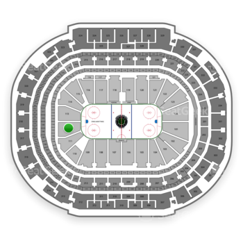 Dallas Stars at American Airlines Center Section 112 View