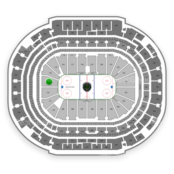 Dallas Stars at American Airlines Center Section 113 View