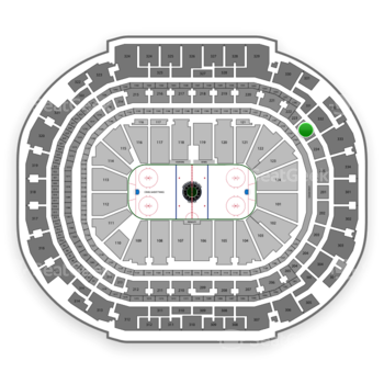 Dallas Stars at American Airlines Center Section 223 View