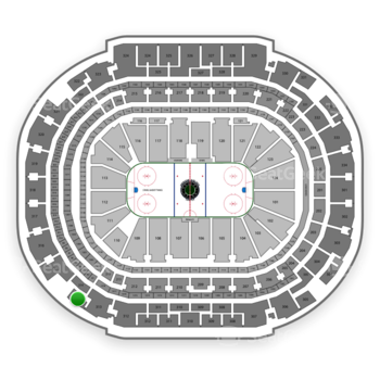 Dallas Stars at American Airlines Center Section 314 View