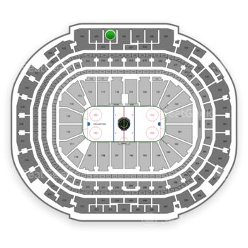 Dallas Stars at American Airlines Center Section 325 View