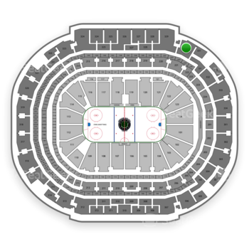 Dallas Stars at American Airlines Center Section 330 View