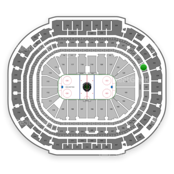 Dallas Stars at American Airlines Center Section 224 View