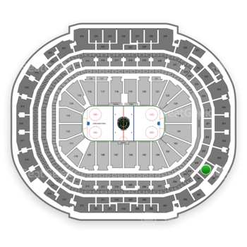 Dallas Stars at American Airlines Center Section 304 View