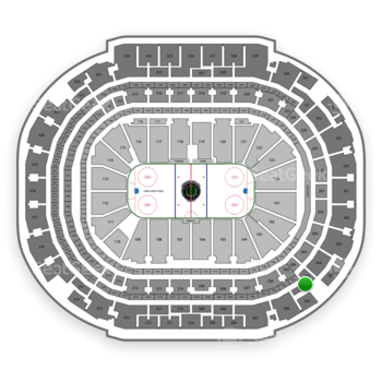 Dallas Stars at American Airlines Center Section 305 View