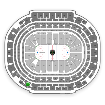 Dallas Stars at American Airlines Center Section 313 View