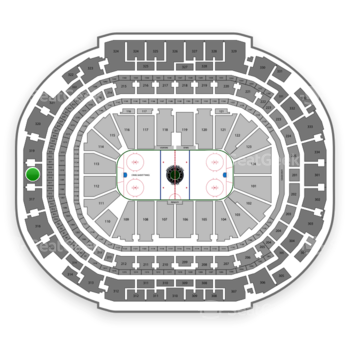 Dallas Stars at American Airlines Center Section 318 View