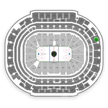 Dallas Stars at American Airlines Center Section 333 View