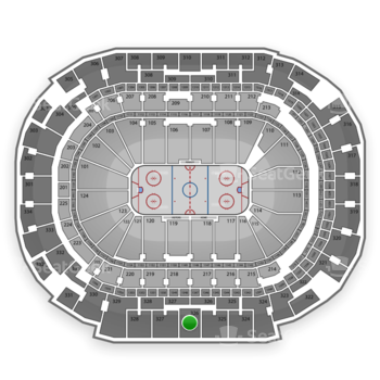 Dallas Stars at American Airlines Center Section 326 View