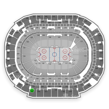 Dallas Stars at American Airlines Center Section 329 View