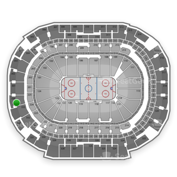 Dallas Stars at American Airlines Center Section 334 View