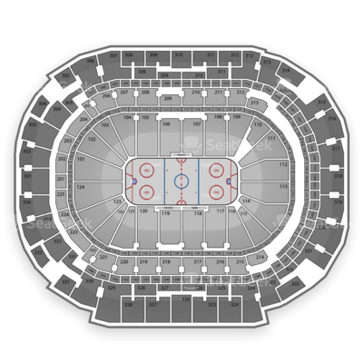 American Airlines Center seating chart Dallas Stars