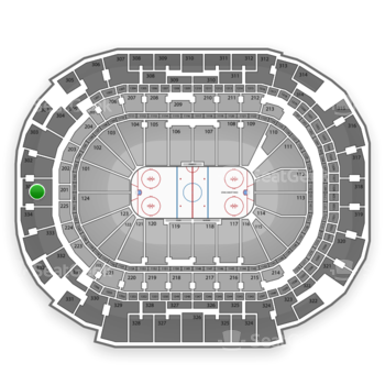 Dallas Stars at American Airlines Center Section 301 View