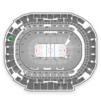 Dallas Stars at American Airlines Center Section 303 View