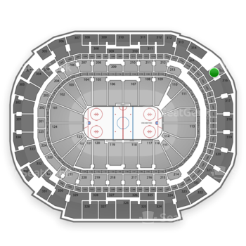 Dallas Stars at American Airlines Center Section 315 View