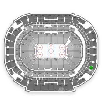 Dallas Stars at American Airlines Center Section 320 View