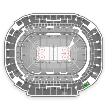 Dallas Stars at American Airlines Center Section 322 View