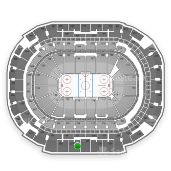 American Airlines Center Section 327 Seat Views Seatgeek