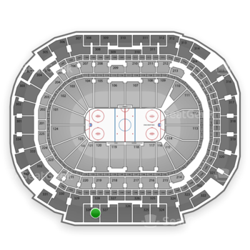 Dallas Stars at American Airlines Center Section 328 View