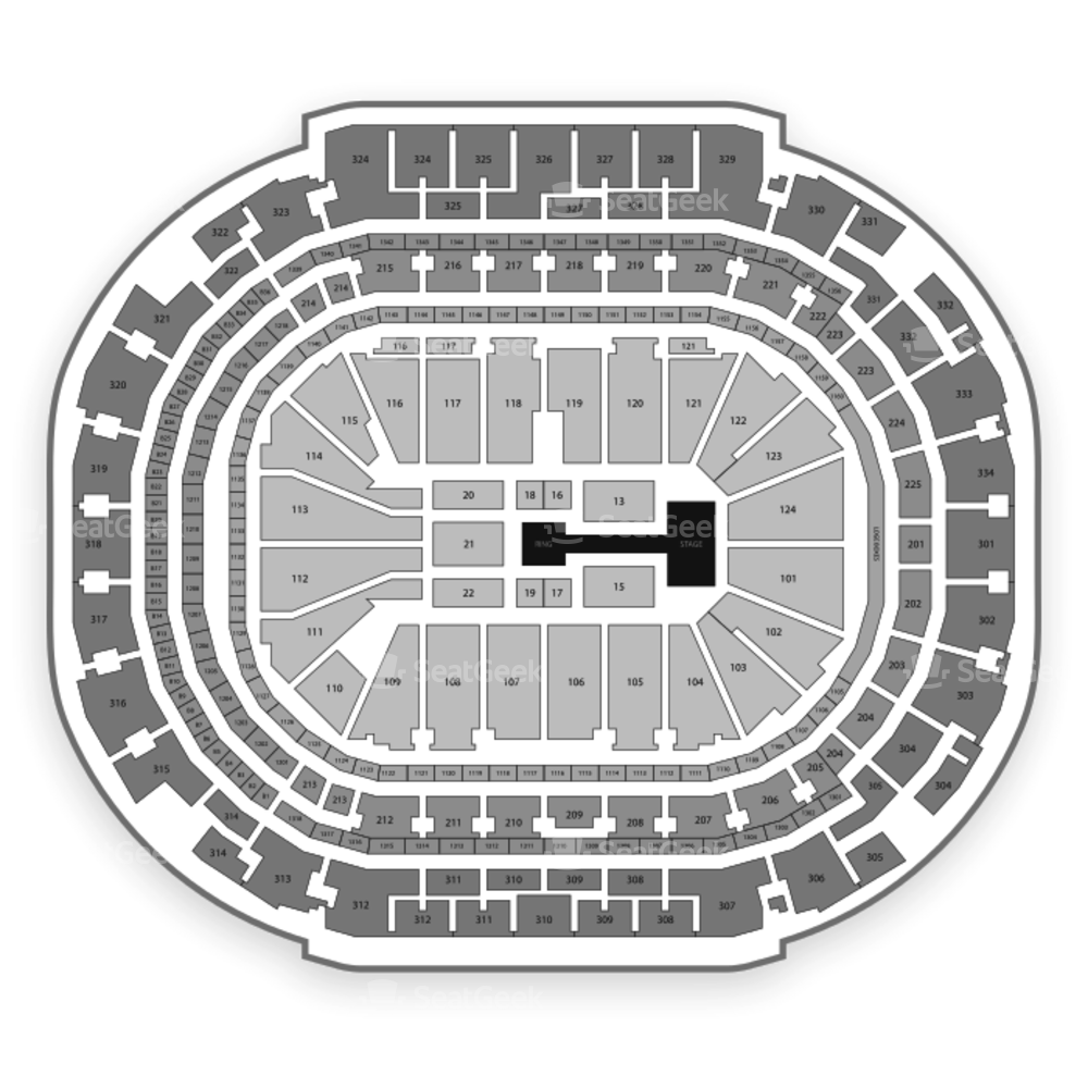 American Airlines Center Seating Chart Wwe