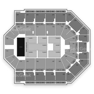 Van Andel Arena Seating Chart Classical