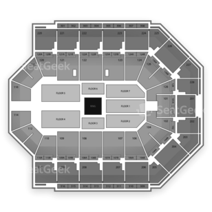 Van Andel Arena Seating Chart Wwe