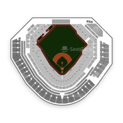 Comerica Park Seating Chart Detroit Tigers