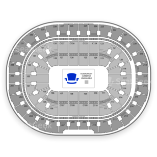 Quicken Loans Arena Seating Chart Wwe