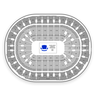 Quicken Loans Arena Seating Chart Wrestling
