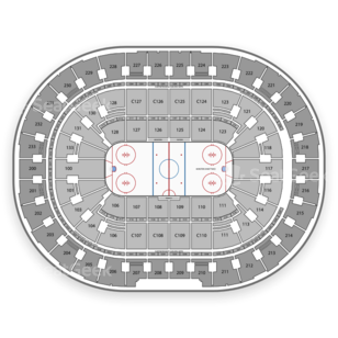 Quicken Loans Arena Seating Chart Minor League Hockey