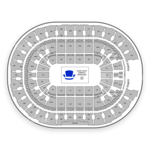 Rocket Mortgage FieldHouse Seating Chart Concert