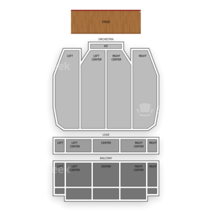 Landmark Theatre Seating Chart Family