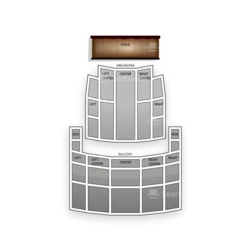 Rochester Auditorium Theatre Seating Chart