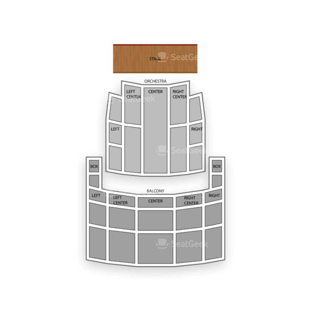 Rochester Auditorium Theatre Seating Chart Family