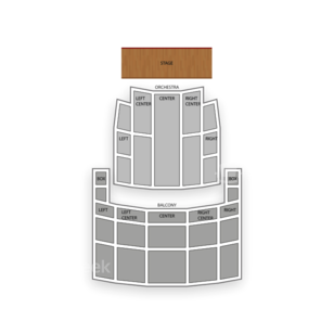 Rochester Auditorium Theatre Seating Chart Comedy