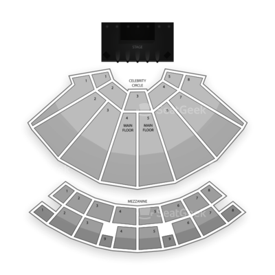 Star Plaza Theatre seating chart The Buckinghams