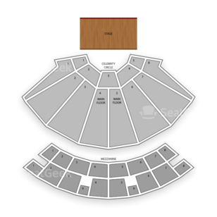 Star Plaza Theatre Seating Chart Theater
