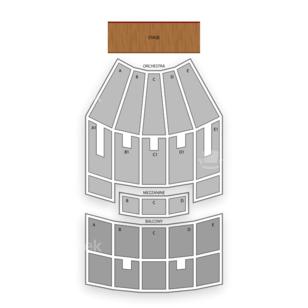 Indiana University Auditorium Seating Chart Theater