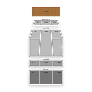 Popejoy Hall Seating Chart Theater