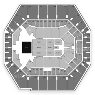 Bankers Life Fieldhouse Seating Chart Concert