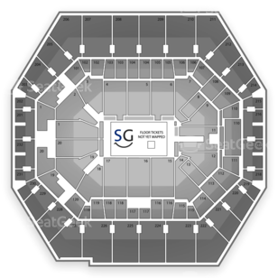 Bankers Life Fieldhouse Seating Chart Music Festival