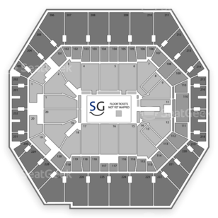 Bankers Life Fieldhouse Seating Chart Wrestling