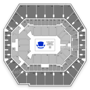 Bankers Life Fieldhouse Seating Chart Wwe