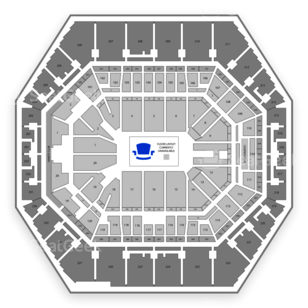 High School Basketball All-American Championship Seating Chart