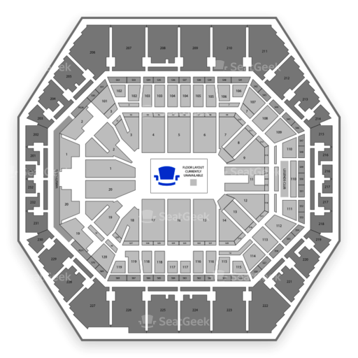 Indiana pacers seating chart map seatgeek