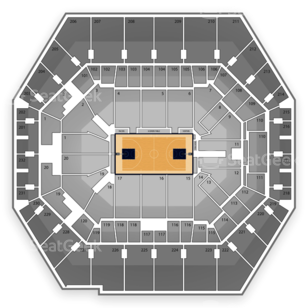 Indiana Pacers Seating Chart